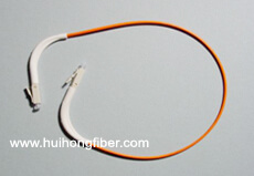 90 degree fiber cable