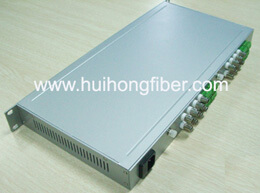 16 channel optical video receiver