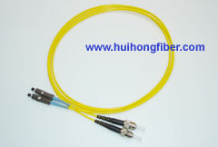 MU to ST Fiber Optic Cable
